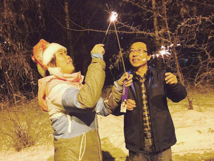 Celebrating Ukrainian New Year in Chinese traditions at PUET (3)