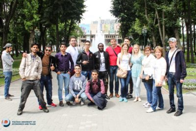 Foreign students of PUET